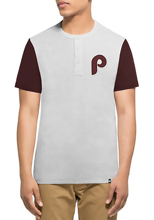 '47 Phillies Mens White Walk Off Fashion Tee