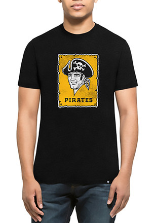 '47 Pittsburgh Pirates Mens Black Knockaround Club Tee