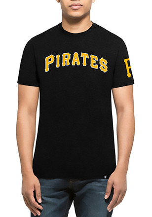 '47 Pittsburgh Pirates Mens Black Team Club Tee