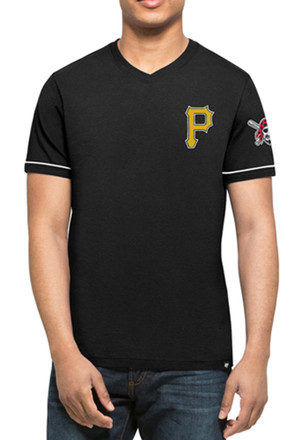 '47 Pittsburgh Pirates Mens Black Diamond King Fashion Tee