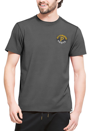 '47 Pittsburgh Pirates Mens Black SS Athleisure Full Speed Tee Tee
