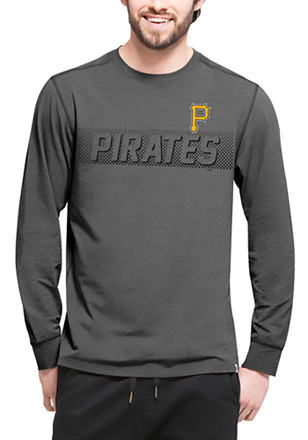 '47 Pittsburgh Pirates Mens Black Forward Athleisure Tee