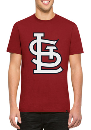 '47 STL Cardinals Mens Red Crosstown Flanker Fashion Tee