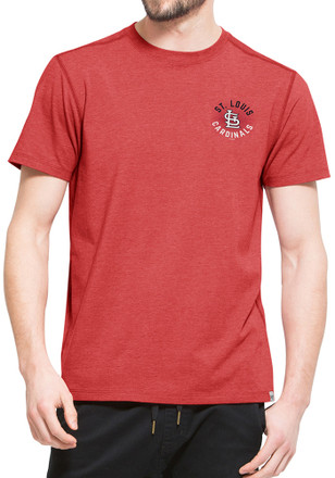 '47 St Louis Cardinals Mens Red SS Athleisure Full Speed Tee Tee