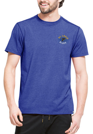 '47 St Louis Blues Mens Blue SS Athleisure Full Speed Tee Tee