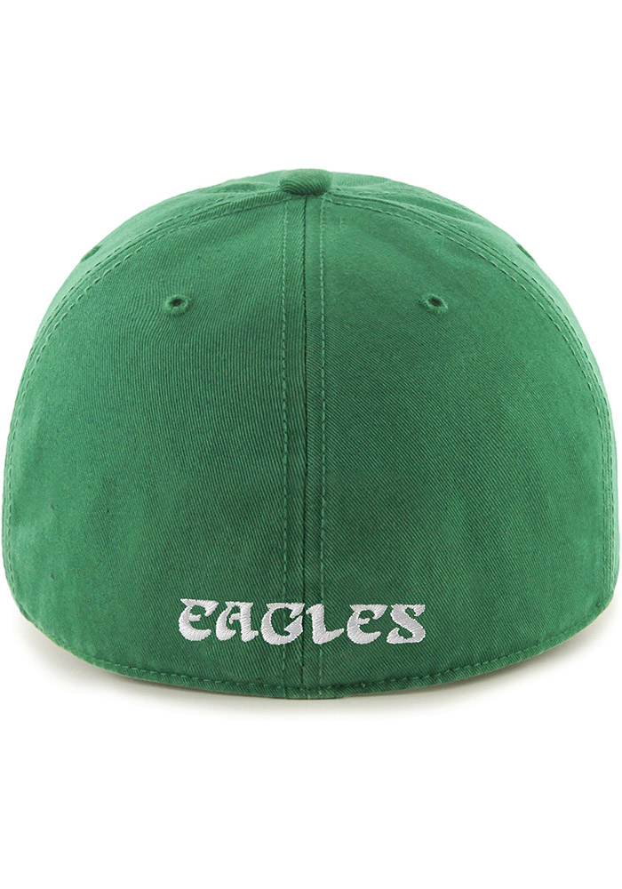 '47 Philadelphia Eagles Mens Kelly Green Retro Franchise Fitted Hat - Image 2