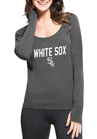47 Chicago White Sox Womens Black Forward Athleisure Tee