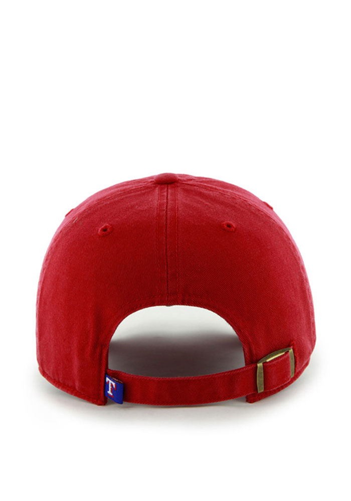 47 Texas Rangers Clean Up Adjustable Hat - Red - Image 2