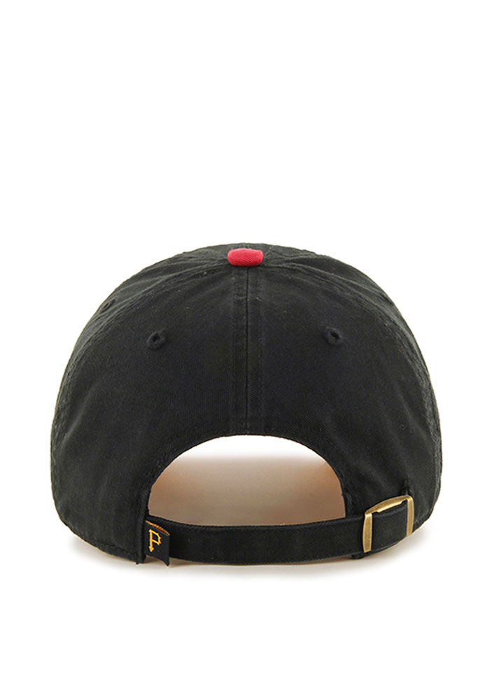 '47 Pittsburgh Pirates Mens Black Clean Up Adjustable Hat - Image 2