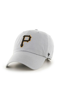 47 Pittsburgh Pirates Clean Up Adjustable Hat - Grey