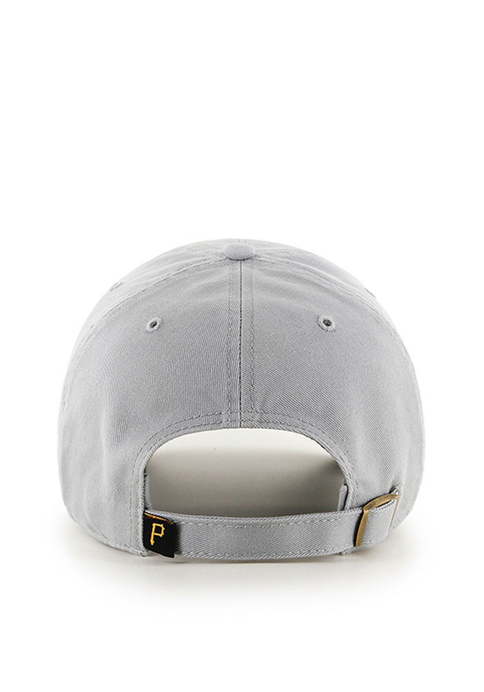 '47 Pittsburgh Pirates Mens Grey Clean Up Adjustable Hat - Image 2