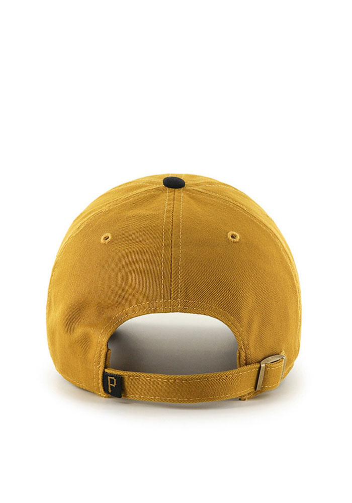'47 Pittsburgh Pirates Mens Gold Clean Up Adjustable Hat - Image 2