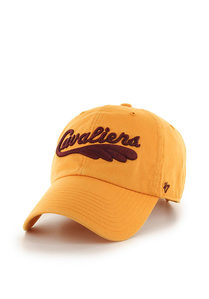 '47 Cleveland Cavaliers Mens Gold 1970 Clean Up Adjustable Hat - Image 1