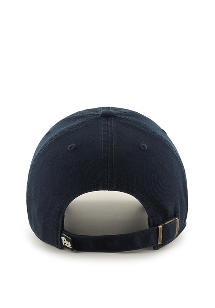 47 Pitt Panthers Clean Up Adjustable Hat - Navy Blue - Image 2