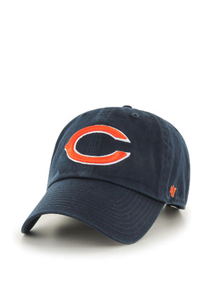 47 Chicago Bears Navy Blue Clean Up Adjustable Hat 2fbf39ecc