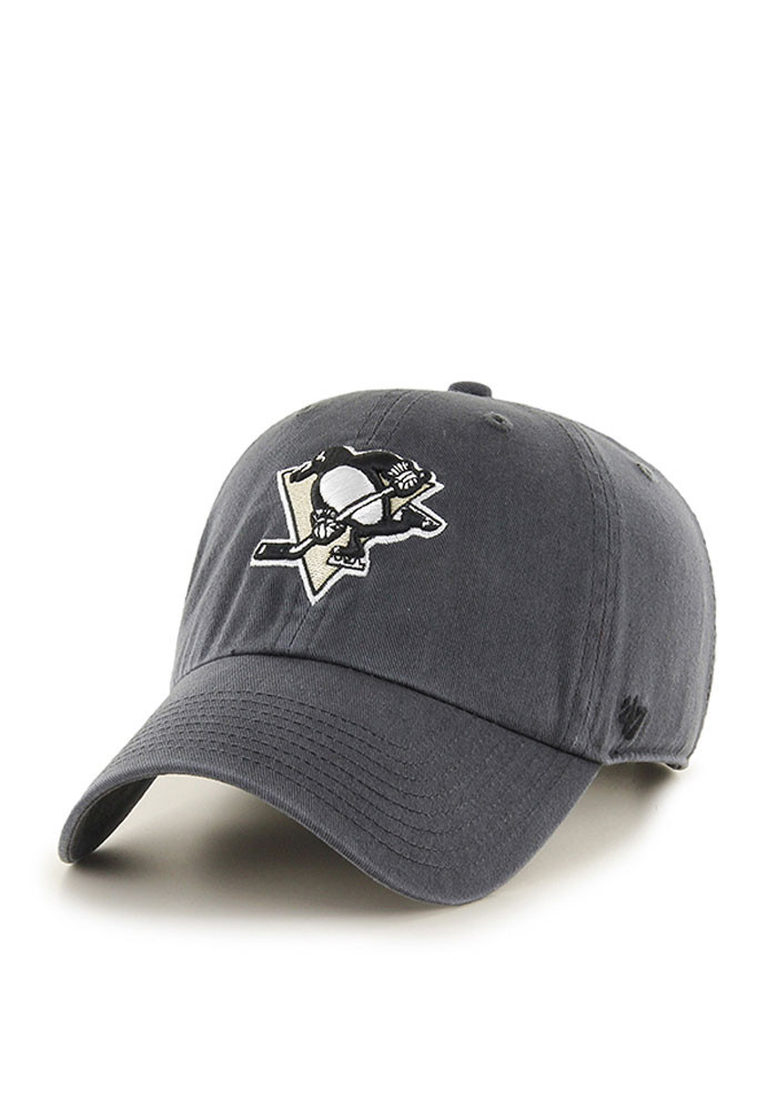 penguins grey clean up adjustable hat personalized baseball caps for babies men hats canada