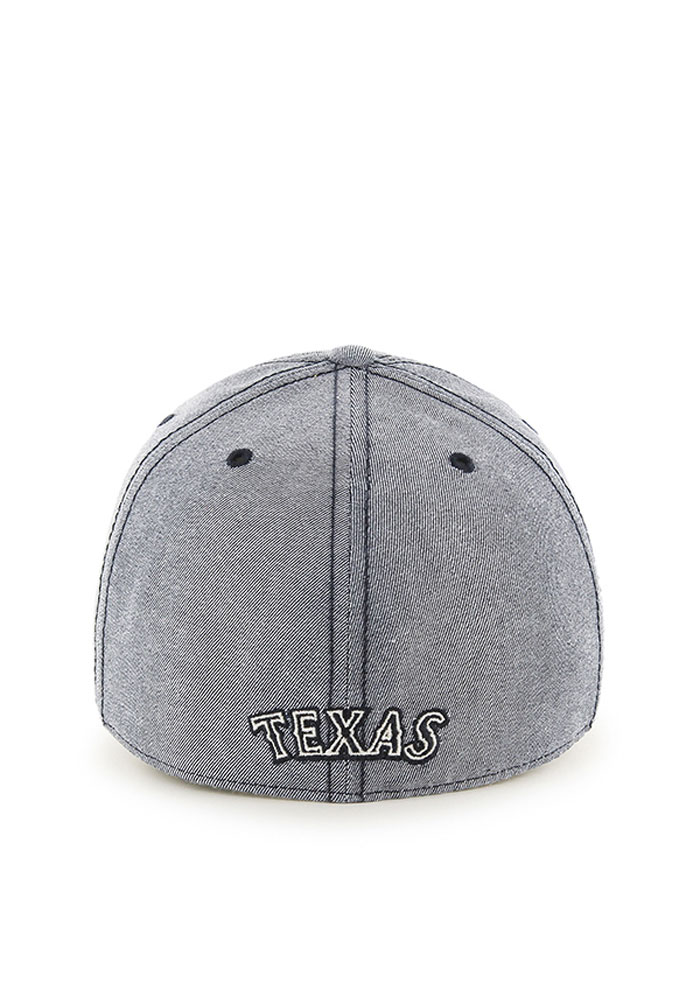 47 Texas Rangers Mens Navy Blue Colfax Franchise Fitted Hat - Image 2