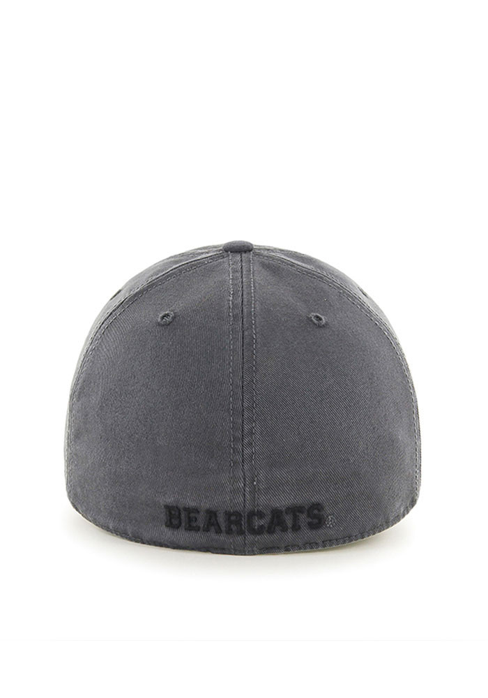 '47 Cincinnati Bearcats Mens Grey Franchise Fitted Hat - Image 2