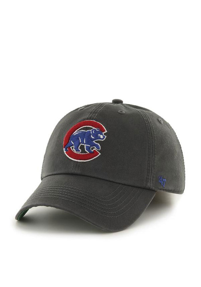 58a8209cb3a Chicago Cubs  47 Grey Franchise Fitted Hat