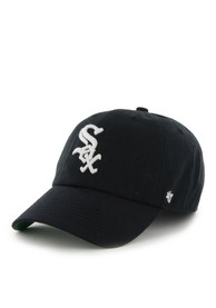 Chicago White Sox 47 Franchise Fitted Hat - Black