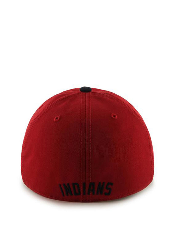 '47 Cleveland Indians Mens Red Franchise Fitted Hat - Image 2