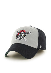 Pittsburgh Pirates 47 Sophomore Franchise Fitted Hat - Black