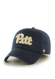 Pitt Panthers 47 Franchise Fitted Hat - Navy Blue