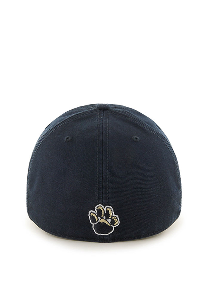 47 Pitt Panthers Mens Navy Blue Franchise Fitted Hat - Image 2