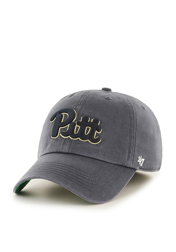 '47 Pitt Panthers Mens Grey Franchise Fitted Hat - Image 1