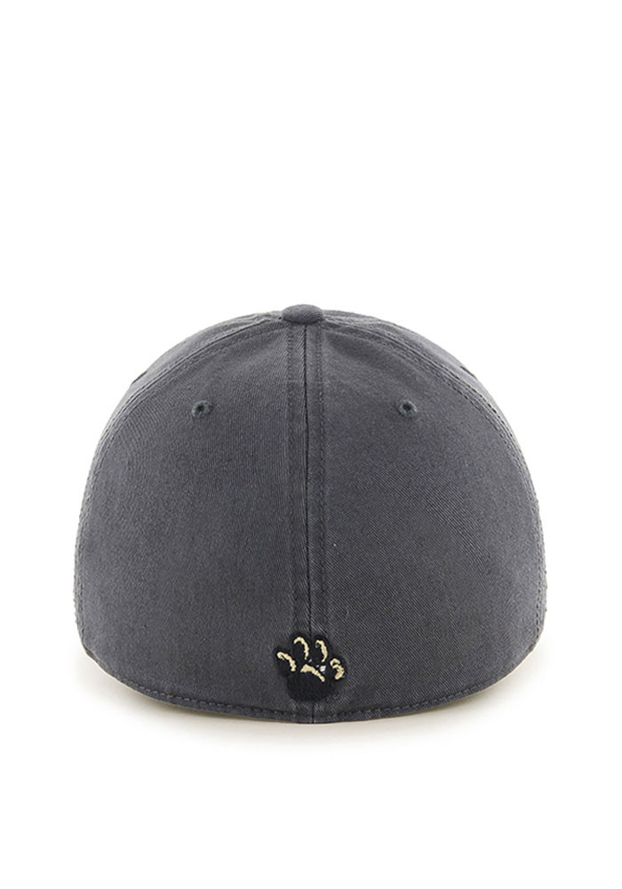 '47 Pitt Panthers Mens Grey Franchise Fitted Hat - Image 2