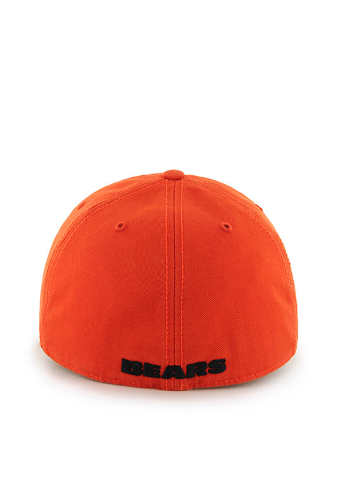 '47 Chicago Bears Mens Orange Franchise Fitted Hat - Image 2