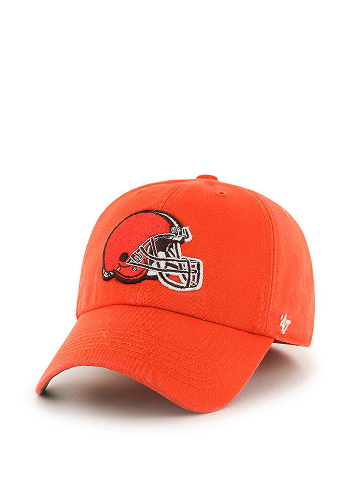 '47 Cleveland Browns Mens Grey Franchise Fitted Hat - Image 1
