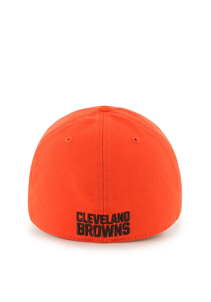 '47 Cleveland Browns Mens Grey Franchise Fitted Hat - Image 2