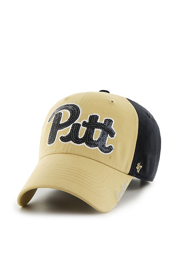'47 Pitt Panthers Navy Blue Sparkle Two Tone Womens Adjustable Hat - Image 1