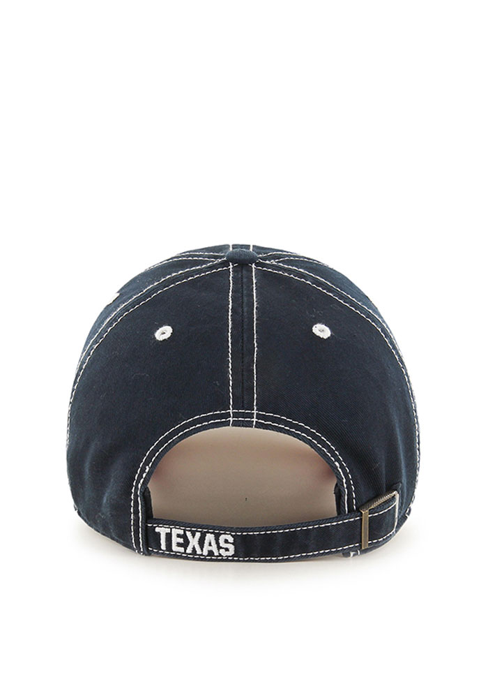 '47 Texas Rangers Mens Navy Blue Rockwell Adjustable Hat - Image 2