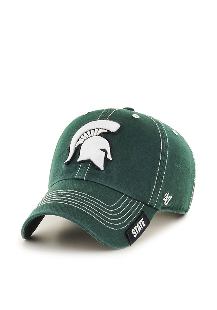47 Michigan State Spartans Rockwell Adjustable Hat - Green - Image 1