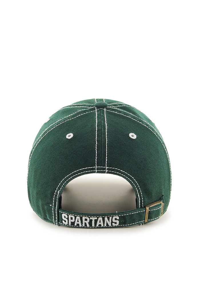 47 Michigan State Spartans Rockwell Adjustable Hat - Green - Image 2