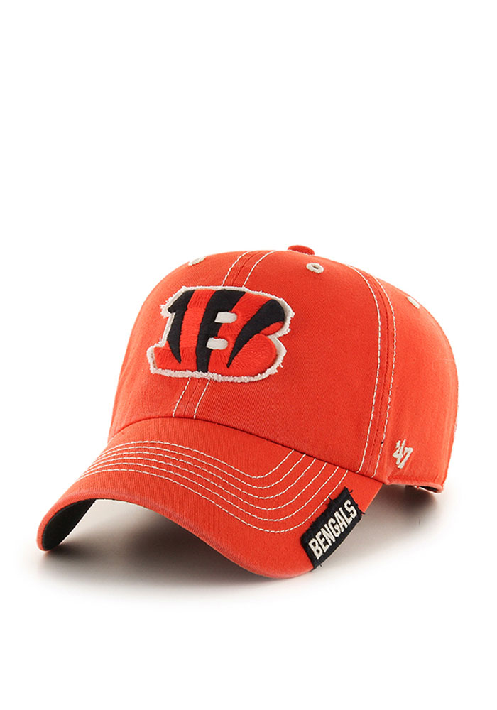 '47 Cincinnati Bengals Rockwell Adjustable Hat - Orange - Image 1