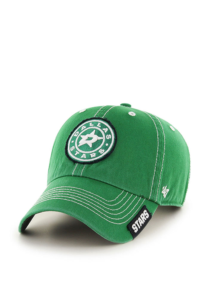 '47 Dallas Stars Mens Green Rockwell Adjustable Hat - Image 1
