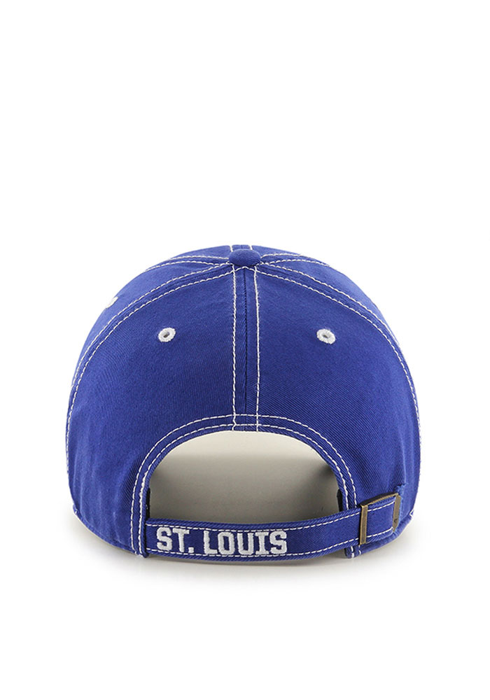 '47 St Louis Blues Mens Blue Rockwell Adjustable Hat - Image 2