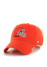 47 Cleveland Browns Womens Orange Miata Adjustable Hat
