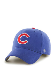 Chicago Cubs Blue Basic Youth Adjustable Hat