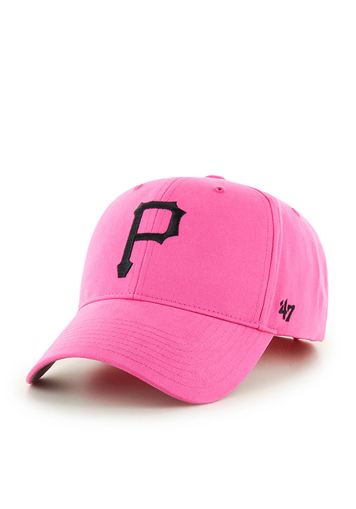 '47 Pittsburgh Pirates Pink Basic Infant Adjustable Hat - Image 1