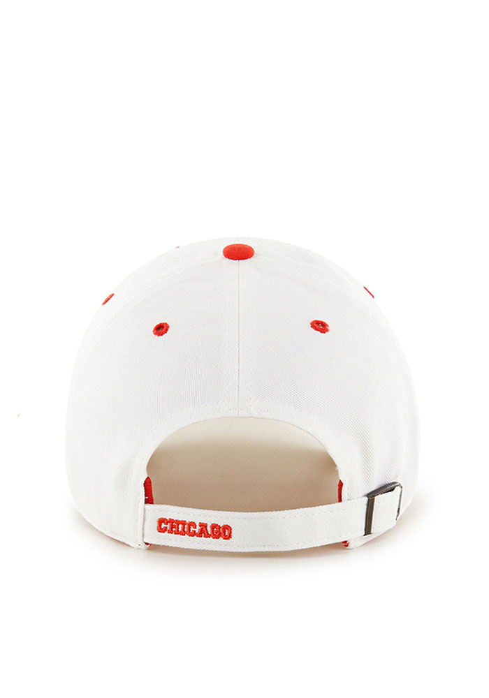 '47 Chicago Bears Ice Clean Up Adjustable Hat - White - Image 2