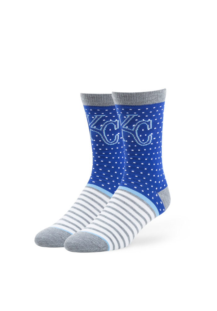 Kansas City Royals Willard Flat Knit Mens Dress Socks - Image 1