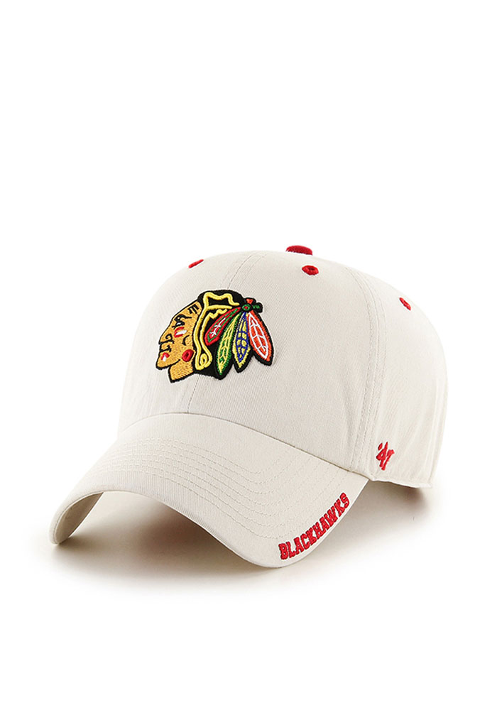 '47 Chicago Blackhawks Ice Clean Up Adjustable Hat - Brown - Image 1