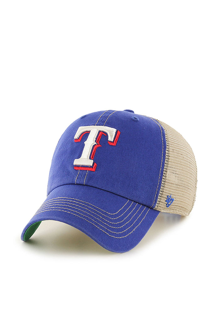 47 Texas Rangers Trawler Adjustable Hat - Blue - Image 1