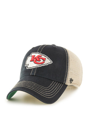 '47 Kansas City Chiefs Mens Black Trawler Adjustable Hat