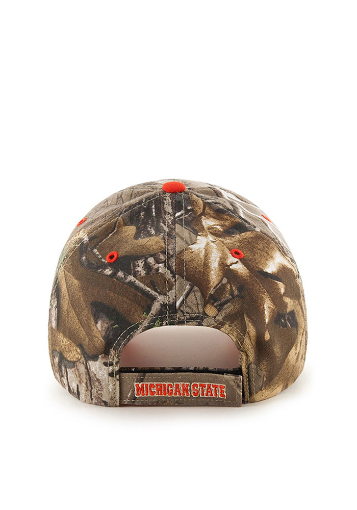 47 Michigan State Spartans RealTree Frost MVP Adjustable Hat - Green - Image 2