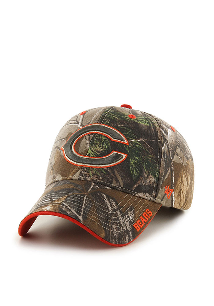 47 Chicago Bears Green RealTree Frost MVP Adjustable Hat 86a02da9a03e